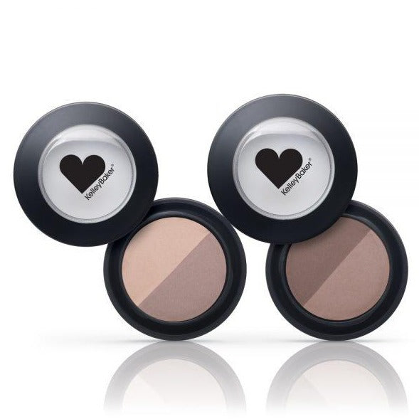 KELLEY BAKER BROW POWDER DUO - Bella Beauty Pro