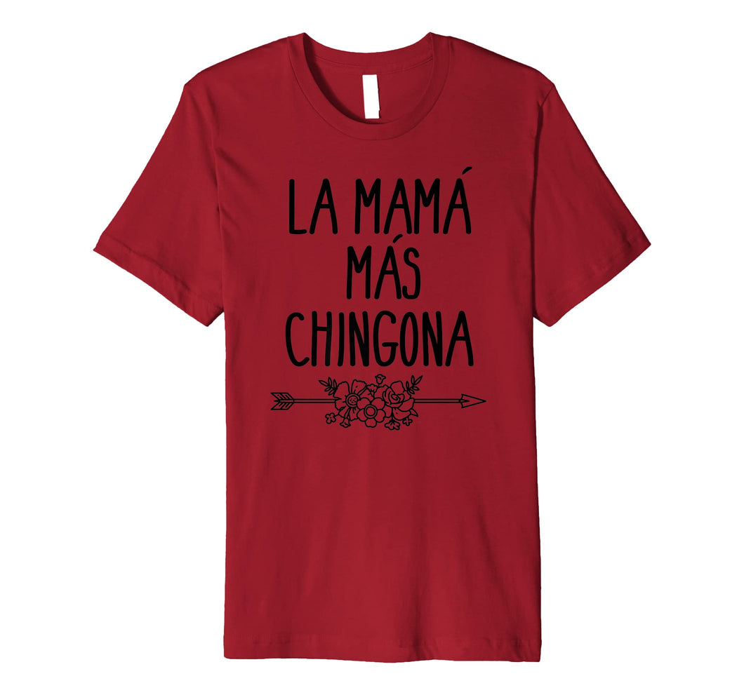 Funny shirts V-neck Tank top Hoodie sweatshirt usa uk au ca gifts for Mama Mas Chingona Mother's Day Mom T-shirt 2636065
