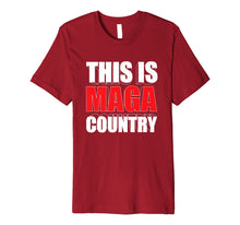 Load image into Gallery viewer, Funny shirts V-neck Tank top Hoodie sweatshirt usa uk au ca gifts for This is Maga Country Trump Fake News Hoax Red Pill 2020 Race Premium T-Shirt 1333071