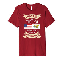 Load image into Gallery viewer, Funny shirts V-neck Tank top Hoodie sweatshirt usa uk au ca gifts for US Virgin Islands T-Shirt 4460648