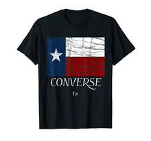Load image into Gallery viewer, Funny shirts V-neck Tank top Hoodie sweatshirt usa uk au ca gifts for Converse TX - T-Shirt | Texas Flag - City State Graphic Tee 1397942