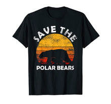Load image into Gallery viewer, Funny shirts V-neck Tank top Hoodie sweatshirt usa uk au ca gifts for Save The Polar Bear T-Shirt Animal Rescue Climate Activist 1122970
