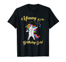 Load image into Gallery viewer, Funny shirts V-neck Tank top Hoodie sweatshirt usa uk au ca gifts for Mommy Of The Birthday Girl Unicorn T-Shirt Gifts Party 2151770