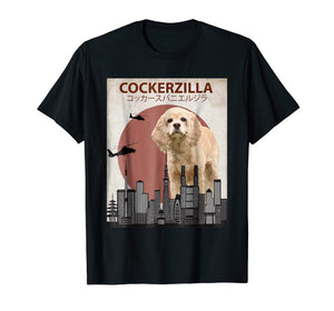 Funny shirts V-neck Tank top Hoodie sweatshirt usa uk au ca gifts for Cockerzilla Funny Cocker Spaniel T-Shirt | Dog Lovers Gift 1660976