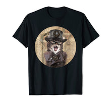 Load image into Gallery viewer, Funny shirts V-neck Tank top Hoodie sweatshirt usa uk au ca gifts for Steampunk Cat - Mens & Womens Soft Lightweight T-Shirt 6554 1537634