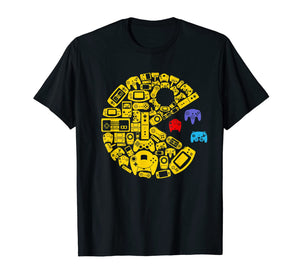 video gamers classic vintage controller gamer t-shirt 82424