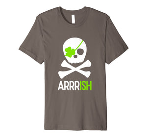 Funny shirts V-neck Tank top Hoodie sweatshirt usa uk au ca gifts for St. Patricks Day Shirt Irish Pirate Skull and Cross bones 2285441