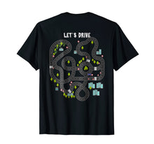 Load image into Gallery viewer, Play Cars on Daddys Back Gift T Shirt for Dad Massage Tee 68341