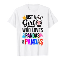 Load image into Gallery viewer, Funny shirts V-neck Tank top Hoodie sweatshirt usa uk au ca gifts for Just A Girl Who Loves Pandas And Slime T-Shirt 1516427