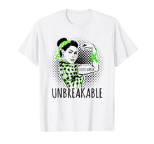 Load image into Gallery viewer, Funny shirts V-neck Tank top Hoodie sweatshirt usa uk au ca gifts for SCOLIOSIS WARRIOR IS UNBREAKABLE T SHIRT 2558255