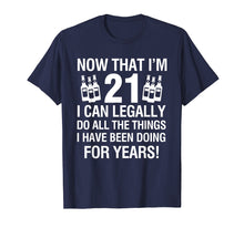 Load image into Gallery viewer, Funny shirts V-neck Tank top Hoodie sweatshirt usa uk au ca gifts for 21th Birthday Shirts | Now That I'm 12 I Can Legally T-shirt 1211154