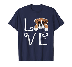 Funny shirts V-neck Tank top Hoodie sweatshirt usa uk au ca gifts for Boxer Love Dog Owner Boxer Puppy T-Shirt 1544312