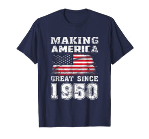 Funny shirts V-neck Tank top Hoodie sweatshirt usa uk au ca gifts for Making America Great Since 1950 69th Birthday Gifts T-Shirt 1393878