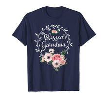 Load image into Gallery viewer, Funny shirts V-neck Tank top Hoodie sweatshirt usa uk au ca gifts for Blessed Grandma T-Shirt with floral, heart Mother's Day Gift 247813