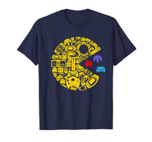 Load image into Gallery viewer, video gamers classic vintage controller gamer t-shirt 82424