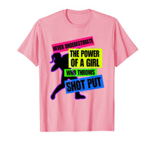 Load image into Gallery viewer, Funny shirts V-neck Tank top Hoodie sweatshirt usa uk au ca gifts for Track and Field Girl Power Shot Put Thrower T-Shirt 1338214