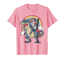 Load image into Gallery viewer, Funny shirts V-neck Tank top Hoodie sweatshirt usa uk au ca gifts for Blue Heeler And Unicorn Ride Dinosaur Like Boss Funny Shirt 1903036