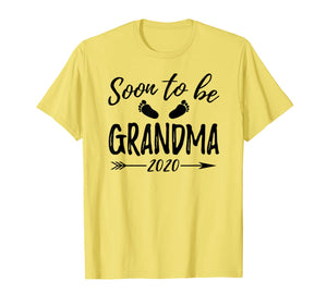 Soon To Be Grandma Est.2020 Shirt Pregnancy Announcement 85454