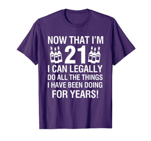 Funny shirts V-neck Tank top Hoodie sweatshirt usa uk au ca gifts for 21th Birthday Shirts | Now That I'm 12 I Can Legally T-shirt 1211154