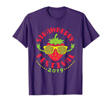 Load image into Gallery viewer, Funny shirts V-neck Tank top Hoodie sweatshirt usa uk au ca gifts for Strawberry Festival 2019 T Shirt Strawberries Summer Fruit 1413006