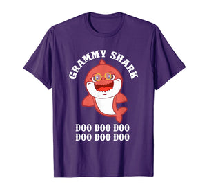 Funny shirts V-neck Tank top Hoodie sweatshirt usa uk au ca gifts for Grammy Shark Doo Doo T-Shirt Funny Kids Video Baby Daddy 1538771