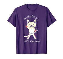 Load image into Gallery viewer, Funny shirts V-neck Tank top Hoodie sweatshirt usa uk au ca gifts for Don't stop meow Freddie Purrcury tshirt gift for women men 1988670