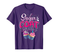 Load image into Gallery viewer, Funny shirts V-neck Tank top Hoodie sweatshirt usa uk au ca gifts for I Sugar Coat Everything T Shirt Cupcake Art Cake Decorator 2627171