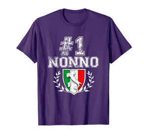 Funny shirts V-neck Tank top Hoodie sweatshirt usa uk au ca gifts for Number One Nonno! Italian Grandfather T-Shirt 460779