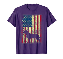 Load image into Gallery viewer, Funny shirts V-neck Tank top Hoodie sweatshirt usa uk au ca gifts for Rottweiler American Flag T-Shirt USA Patriotic Dog 1604699