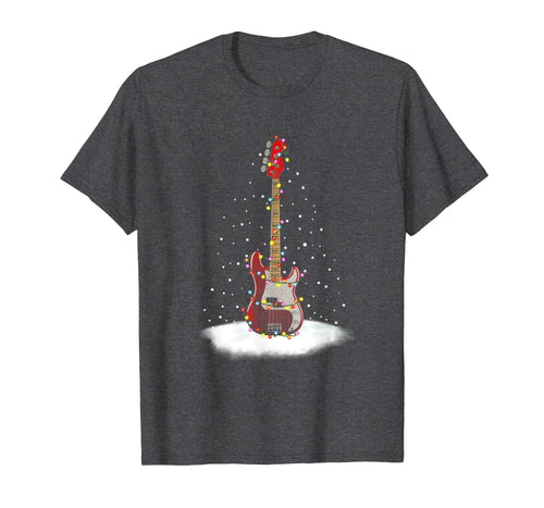 Christmas Guitar Funny Guitarist Christmas Gifts T-Shirt-813603