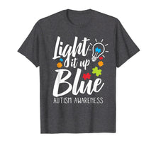Load image into Gallery viewer, Funny shirts V-neck Tank top Hoodie sweatshirt usa uk au ca gifts for Light It Up Blue Autism Awareness T-Shirt 1193546