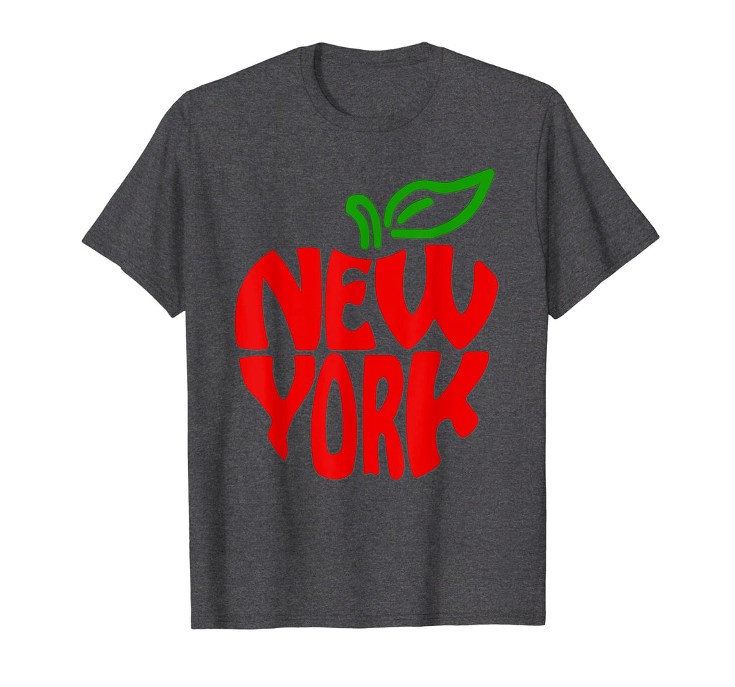 Funny shirts V-neck Tank top Hoodie sweatshirt usa uk au ca gifts for Funny New York City Red Big Apple NY NYC T-Shirt Gift 1280493