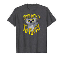 Load image into Gallery viewer, Funny shirts V-neck Tank top Hoodie sweatshirt usa uk au ca gifts for Funny Koalafied to Party T-Shirt Dancing Koala Shirt Dabbing 1006273