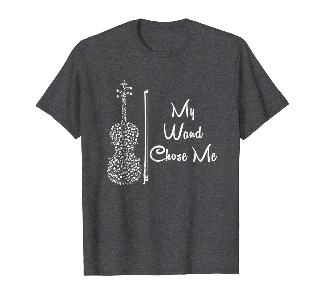 Funny shirts V-neck Tank top Hoodie sweatshirt usa uk au ca gifts for My Wand Chose Me Tshirt Cute Violin Violinist Gifts Girls 698473