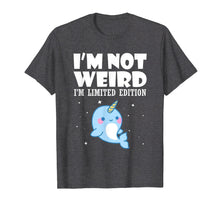 Load image into Gallery viewer, Funny shirts V-neck Tank top Hoodie sweatshirt usa uk au ca gifts for Narwhal Shirt I'm Not Weird I'm Limited Edition T Shirt 1292919