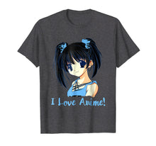 Load image into Gallery viewer, Funny shirts V-neck Tank top Hoodie sweatshirt usa uk au ca gifts for I Love Anime! Anime Girl T-Shirt 1444542