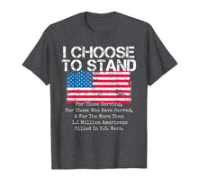 Load image into Gallery viewer, Funny shirts V-neck Tank top Hoodie sweatshirt usa uk au ca gifts for American Flag Shirt I Choose to Stand National Anthem Quote 1151260