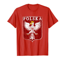 Load image into Gallery viewer, Funny shirts V-neck Tank top Hoodie sweatshirt usa uk au ca gifts for Polish Eagle Polish Crest Vintage Polska Eagle Poland Shirt 1361821