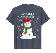 Load image into Gallery viewer, Funny shirts V-neck Tank top Hoodie sweatshirt usa uk au ca gifts for Christmas - Merry Christmas Snowman T-Shirt 911012