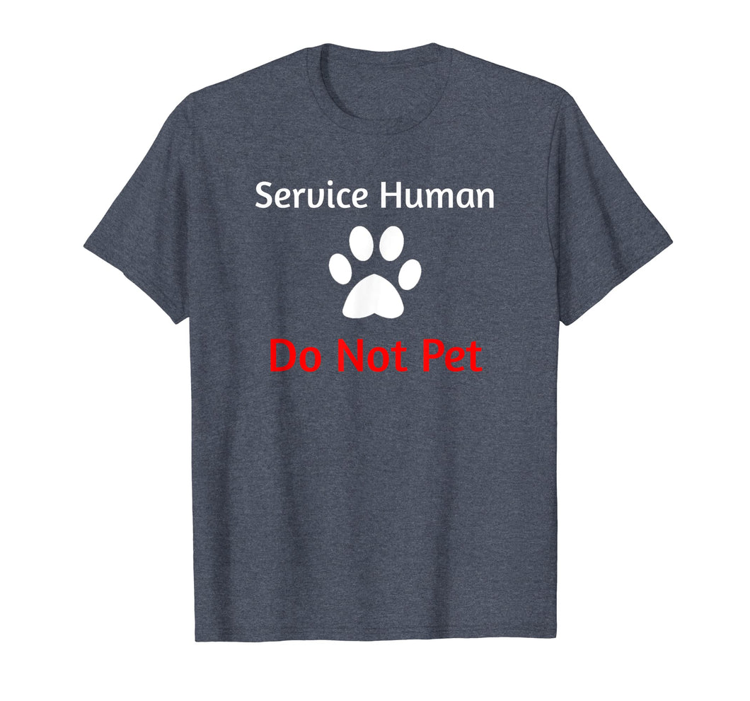 Funny shirts V-neck Tank top Hoodie sweatshirt usa uk au ca gifts for Service Human Do Not Pet with Paw Funny Dog T-shirt 2628240