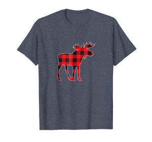 Funny shirts V-neck Tank top Hoodie sweatshirt usa uk au ca gifts for Red Moose Christmas Matching Buffalo Plaid Pajama Shirt 2041568