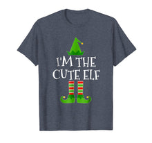 Load image into Gallery viewer, Funny shirts V-neck Tank top Hoodie sweatshirt usa uk au ca gifts for I'm The Cute Elf Matching Family Group Christmas T Shirt 1014912