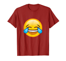 Load image into Gallery viewer, Funny shirts V-neck Tank top Hoodie sweatshirt usa uk au ca gifts for Emoticon Face Tears of Joy Emoji T-shirt 1464020