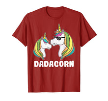 Load image into Gallery viewer, Funny shirts V-neck Tank top Hoodie sweatshirt usa uk au ca gifts for Dadacorn Unicorn Dad And Baby Fathers Day T-Shirt 1193539