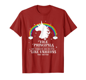 Funny shirts V-neck Tank top Hoodie sweatshirt usa uk au ca gifts for Vice Principals are Magical Like Unicorns Funny Tshirt Gift 1285888