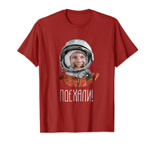 Load image into Gallery viewer, Funny shirts V-neck Tank top Hoodie sweatshirt usa uk au ca gifts for USSR Astronaut Yuri Gagarin T-Shirt 2005506