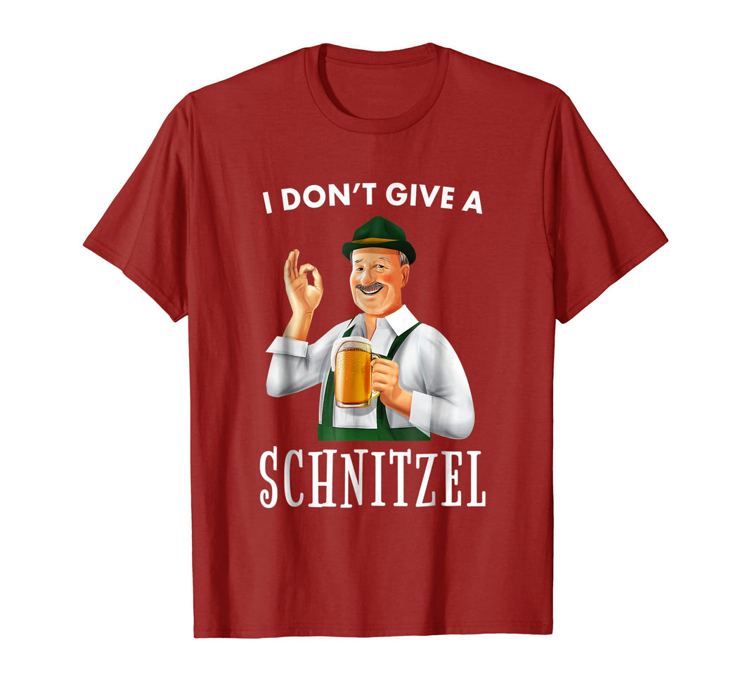 Funny shirts V-neck Tank top Hoodie sweatshirt usa uk au ca gifts for I Don't Give A Schnitzel - Beer T Shirt 2066120
