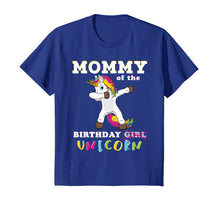 Load image into Gallery viewer, Funny shirts V-neck Tank top Hoodie sweatshirt usa uk au ca gifts for Mommy of the Birthday Girl T-Shirt Magic Unicorn 1163620