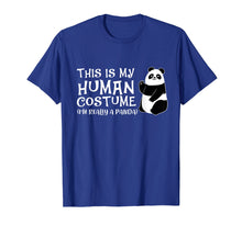 Load image into Gallery viewer, Funny shirts V-neck Tank top Hoodie sweatshirt usa uk au ca gifts for Panda Human Costume Love Pandas T-Shirt 1263991