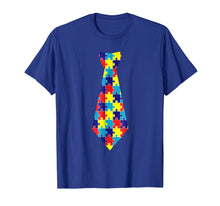 Load image into Gallery viewer, Funny shirts V-neck Tank top Hoodie sweatshirt usa uk au ca gifts for Autism Awareness Puzzle Neck Tie 2017 shirt 1597203